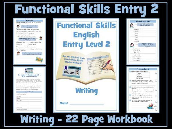 English Functional Skills - Entry Level 2 - Writing Workbook