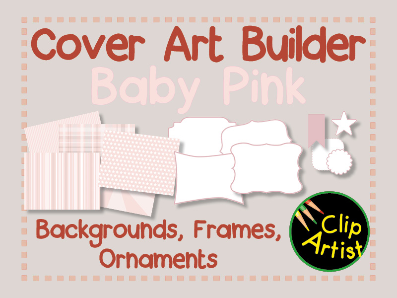 Cover Builder for Authors and Presentations - Baby Pink