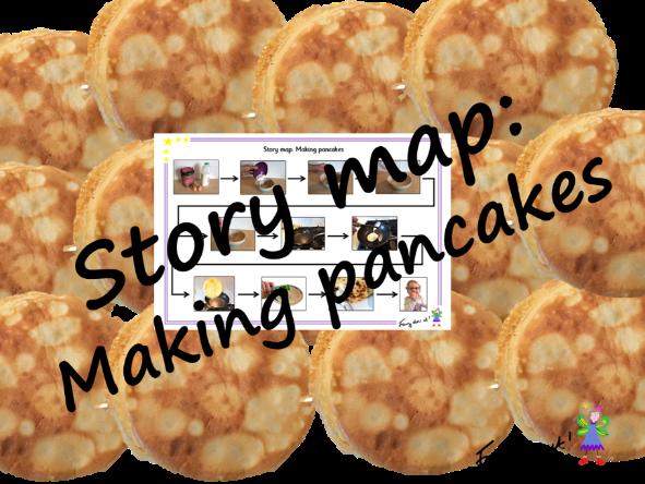 Story map – making pancakes