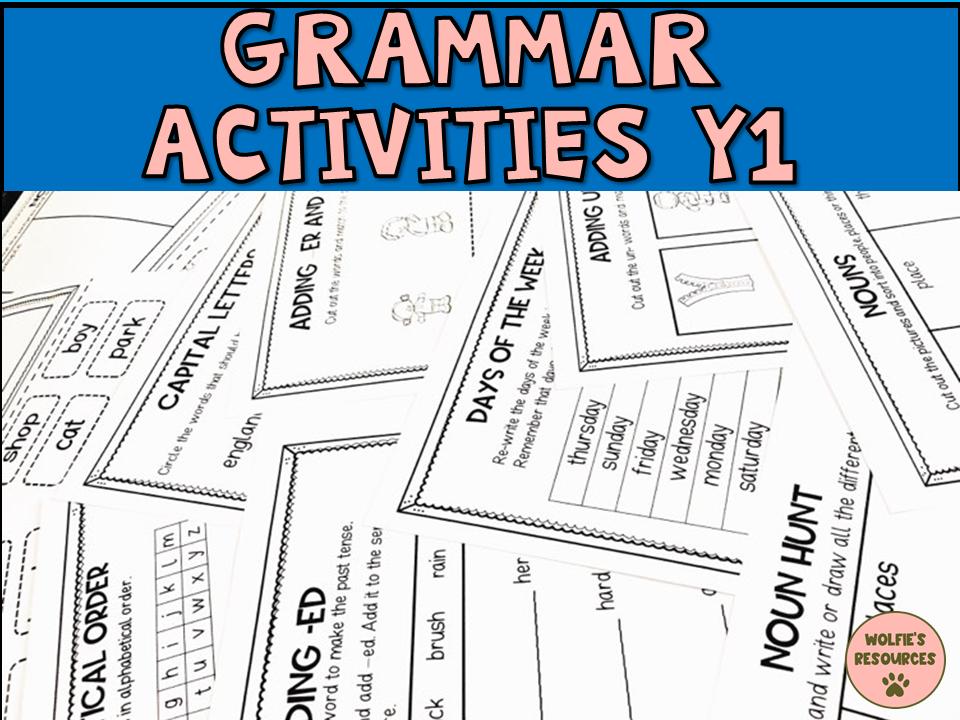 Grammar Activities Year 1