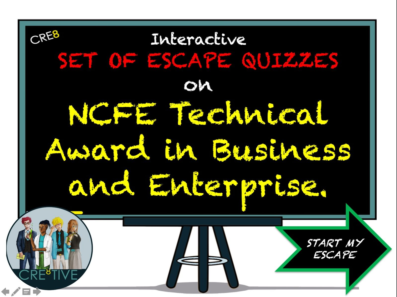 NCFE Technical Award in Business & Enterprise Set of Revision