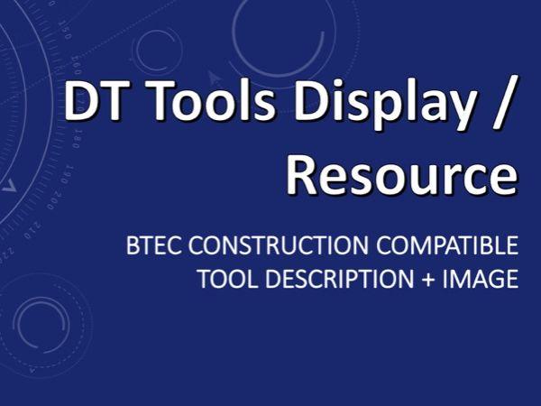 DT tools display / resource