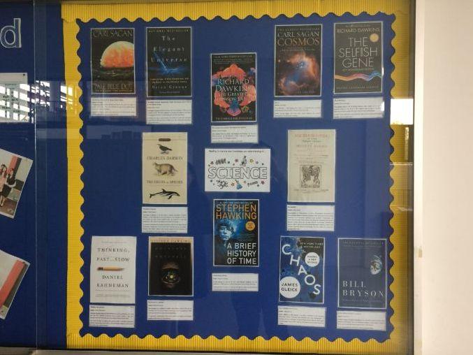 Science Reading Classroom/School Display