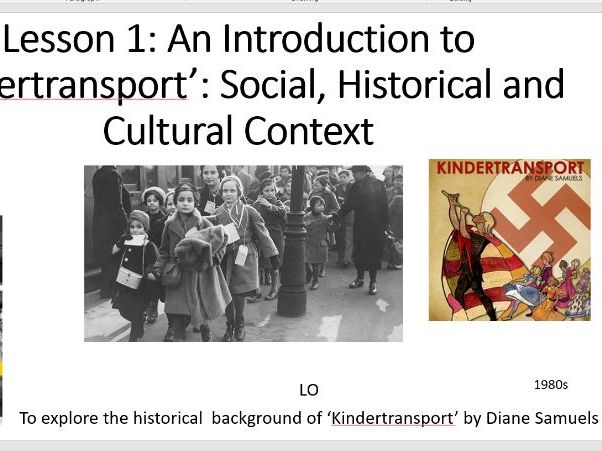 Introduction to Kindertransport