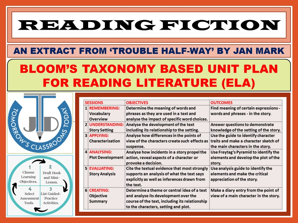 READING FICTION: UNIT LESSON PLAN - 6 SESSIONS