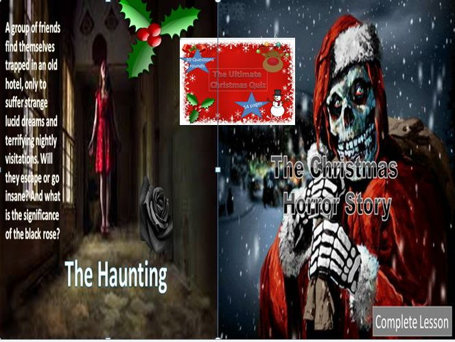 A Christmas Story Quizzes.The Haunting Christmas Horror Story Christmas Quiz