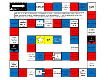 10 Boardgames to practise French tenses and Various Topics