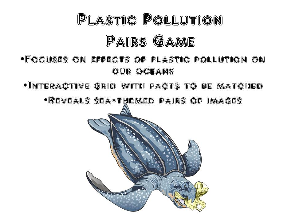 World Oceans Day 2019 Game