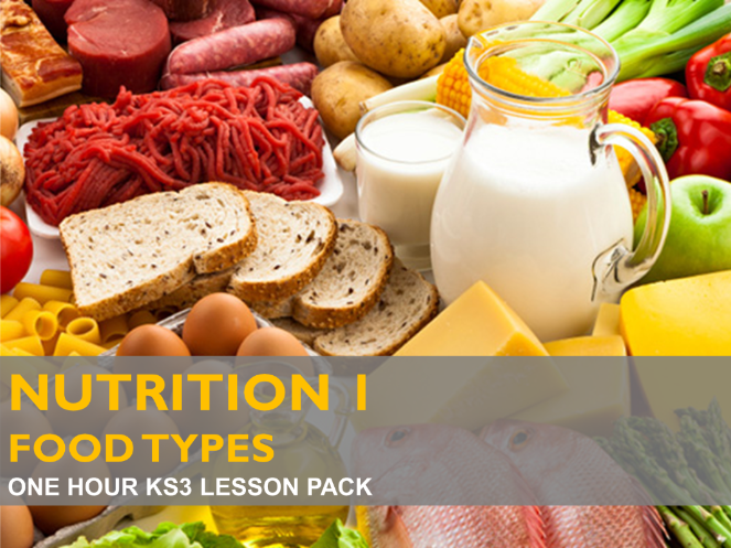 Nutrition 1 - Food Types