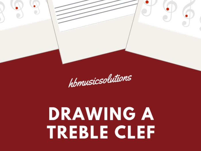 Drawing A Treble Clef