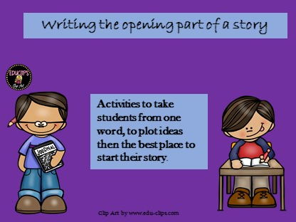Writing the opening part of a story. AQA GCSE (9-1) paper 1, Sec B/Writing. (Creative Writing)