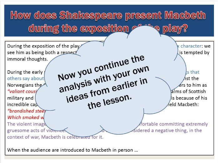 "how shakespeare presents macbeths treatment of In his sixties he was able to combine his love of shakespeare and knowledge of the diagnosis and treatment of mental illness, in 1863 publishing his study of hamlet he tries to establish ""whethershakespeare intended simply to portray the feigning of madness, or designedly drew a representationof a mind really disordered."
