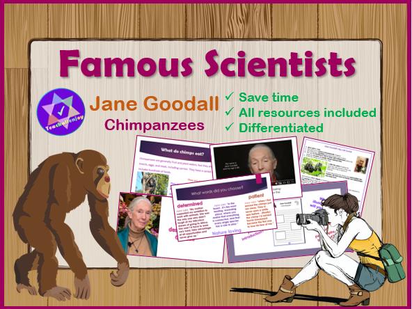 Jane Goodall Science Plan Powerpoint