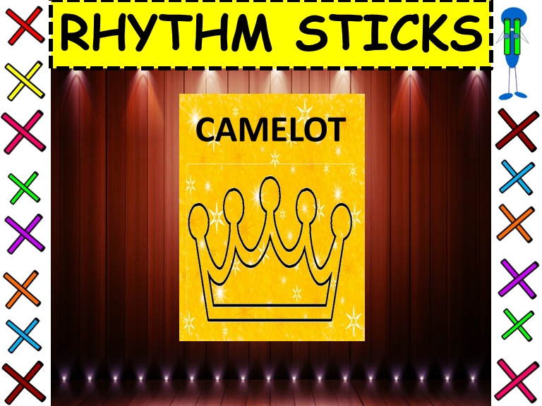 "Rhythm Sticks: Musicals: ""Camelot"" from the musical Camelot"