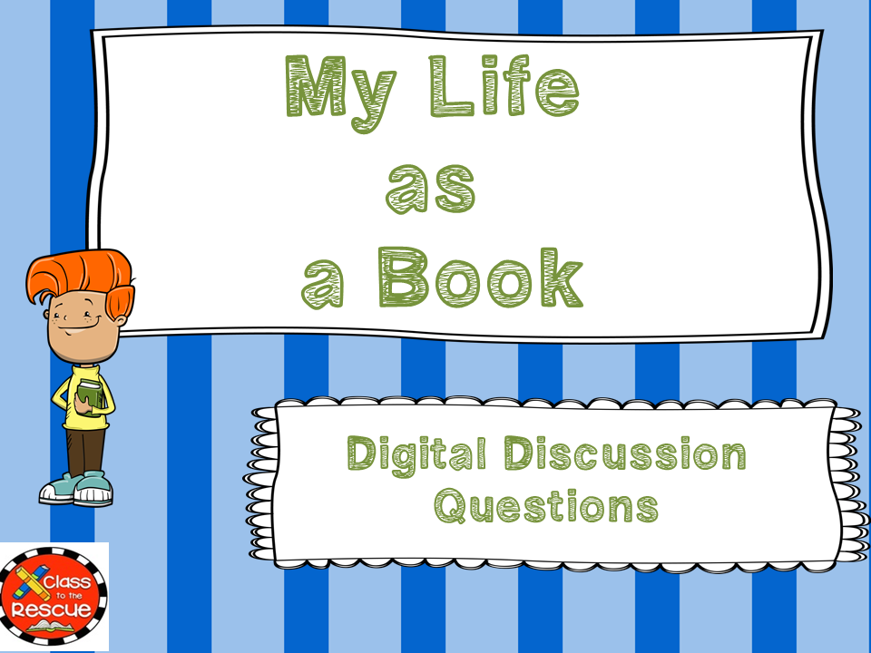 My Life as a Book Digital Discussion Questions and Answers