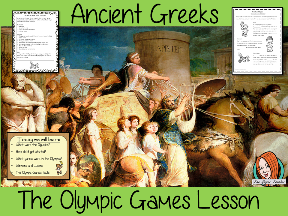 The Ancient Greek Games Olympics Complete History Lesson