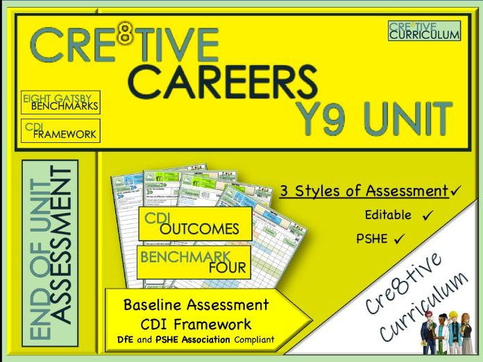 Year 9 Cre8tive Careers Baseline Assessment