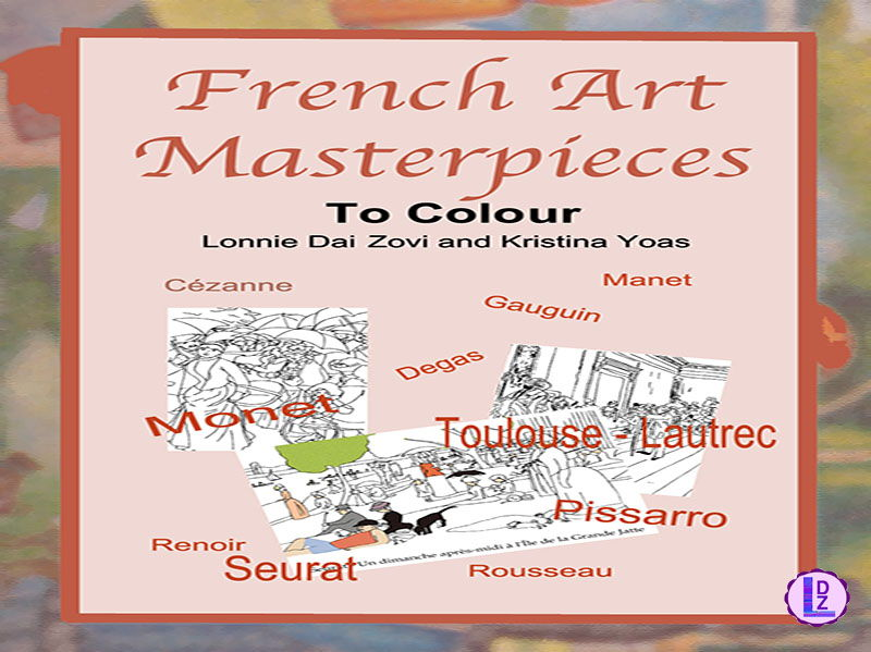 French Art Masterpieces to Colour