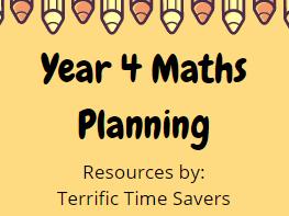 Year 4 Maths Planning