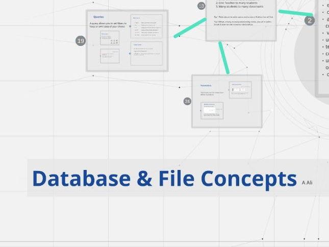 Database Concepts GCSE & AS  IT