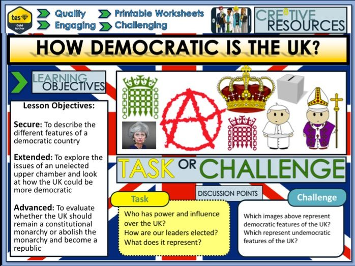 How democratic is the UK ?