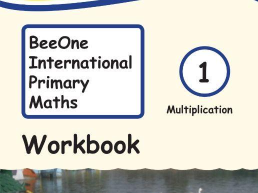 Grade 1 Math Multiplication Workbook from BeeOne Books