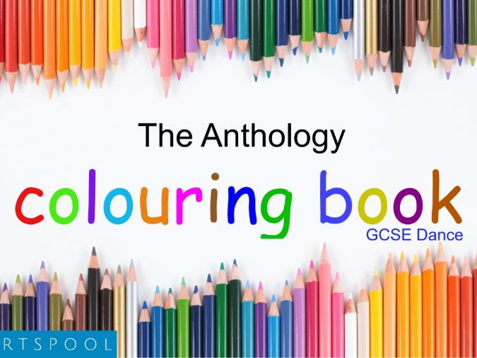 The Anthology Colouring Book: GCSE Dance