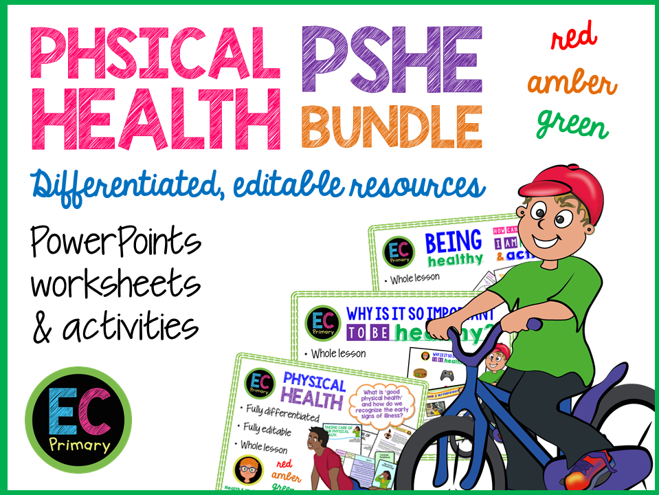 Physical Health Primary PSHE
