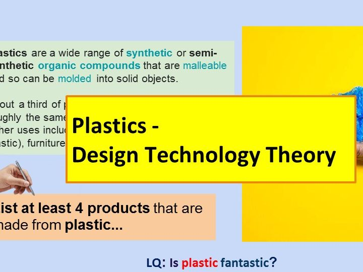 Plastics Design Technology Theory