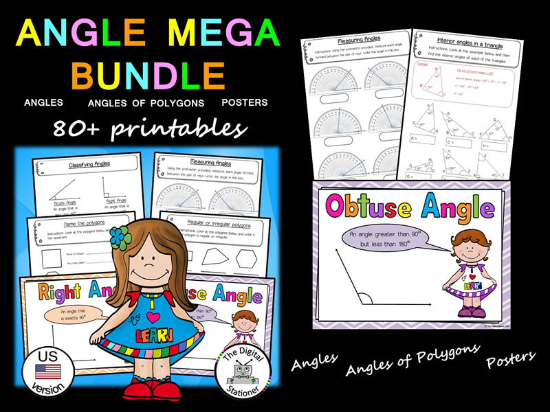 Angles MEGA Bundle (US version) - 80+ printables