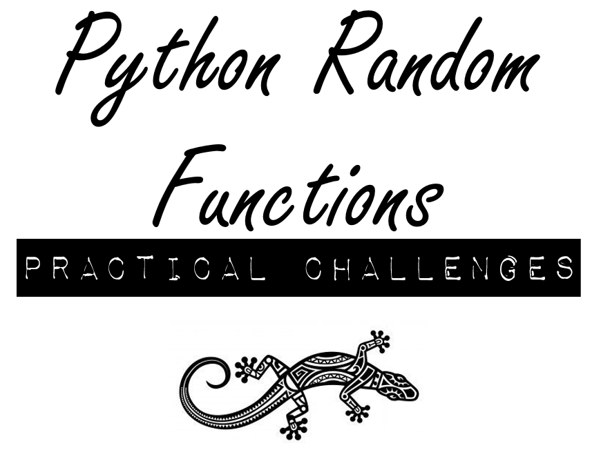 Python Random Values Practical Challenges