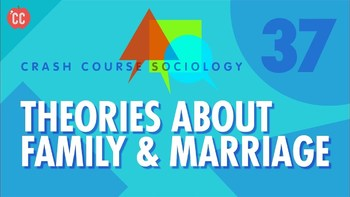 Crash Course Sociology E # 37 Theories About Family & Marriage Q & A Key
