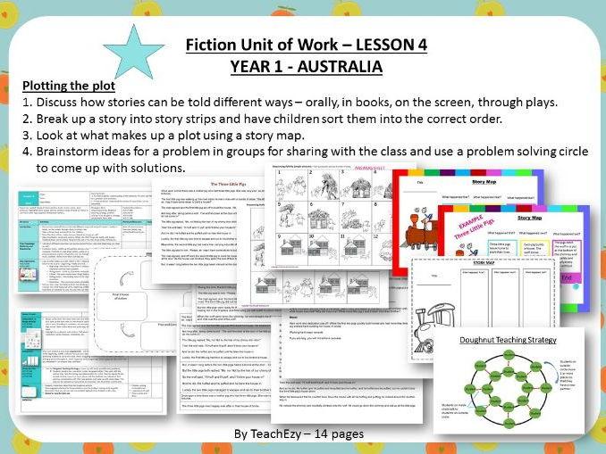 LESSON 4 The Plot - Fiction Year 1 Australian Curriculum