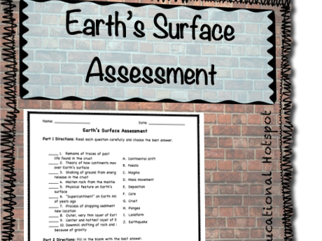 Earth's Surface Assessment