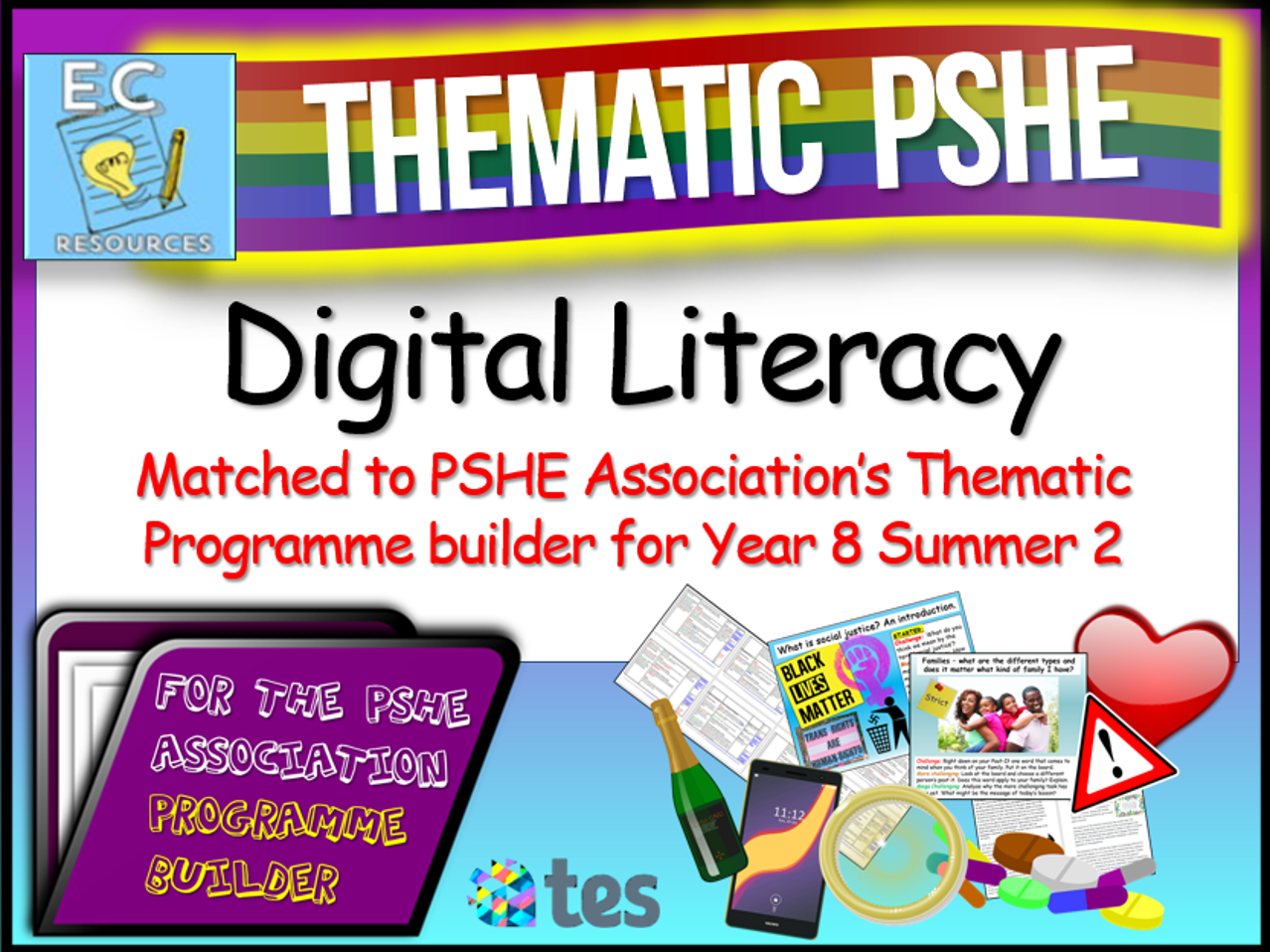 Digital Literacy Thematic PSHE