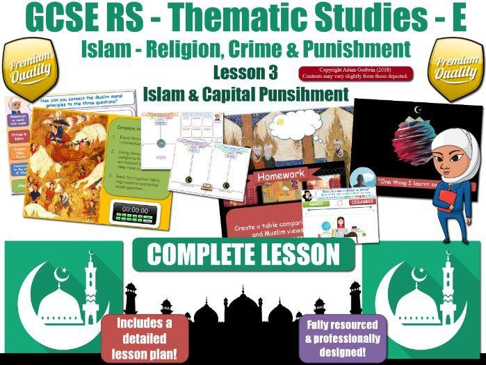 Capital Punishment - Muslim Views (GCSE RS - Islam - Religion, Crime & Punishment) L3/7