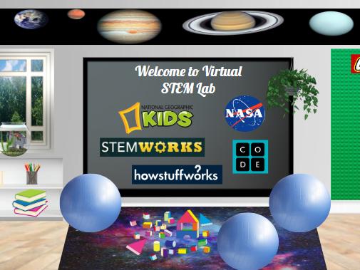 Bitmoji Virtual Classroom - STEM, Science