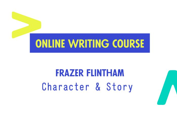 Remote Writing Course 1: Character and Story