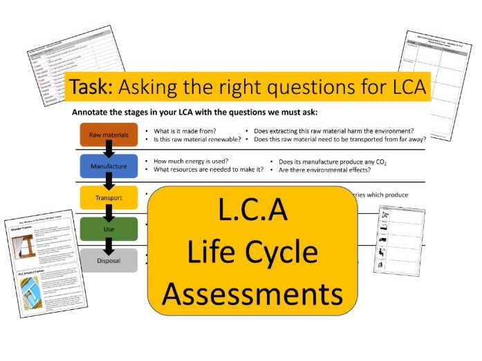 Life Cycle Assessment LCA - AQA Chemistry
