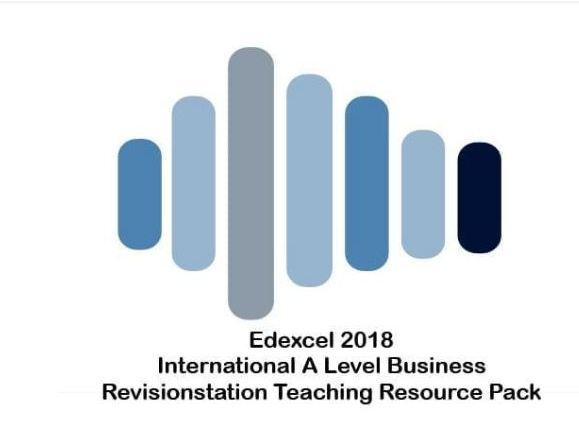 Edexcel INTERNATIONAL A Level Business Unit 3 Business Decisions and Strategy resources bundle