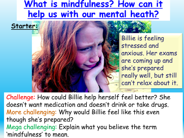 Mindfulness - Mental Health