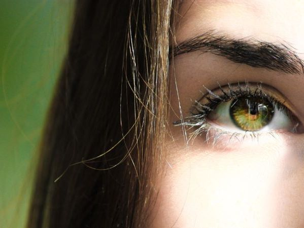 Los ojos y el pelo