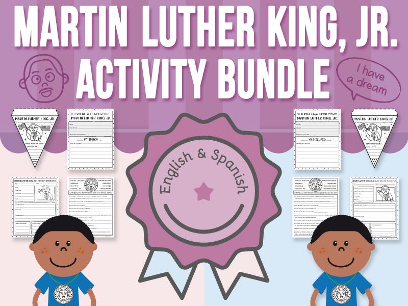 Martin Luther King, Jr. - Activity BUNDLE