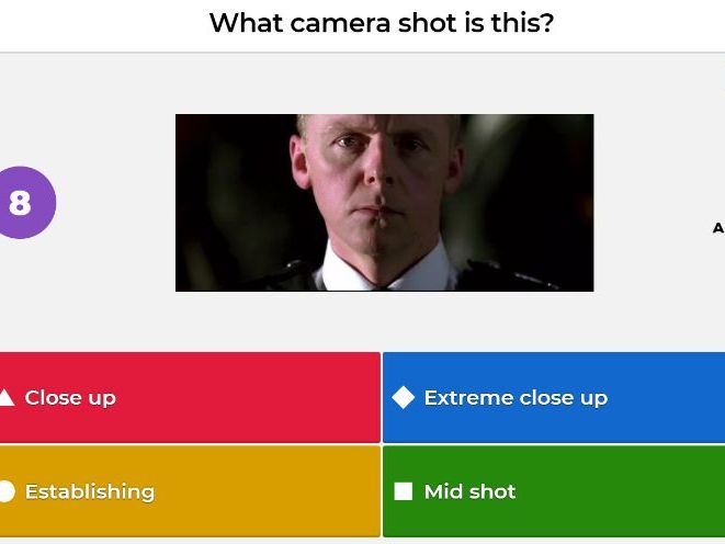 Mise en scene and Cinematography Film /Media Studies Kahoot - includes a Christmas film round