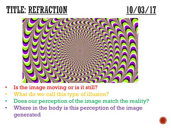 Refraction - complete lesson (KS3)