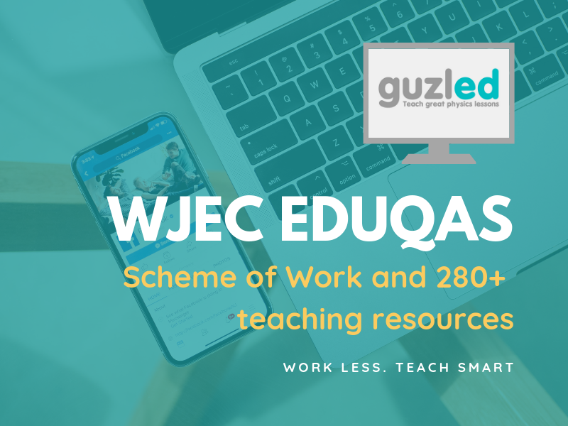WJEC Eduqas A Level Physics (from 2015) - complete scheme of work incl. 288 resources