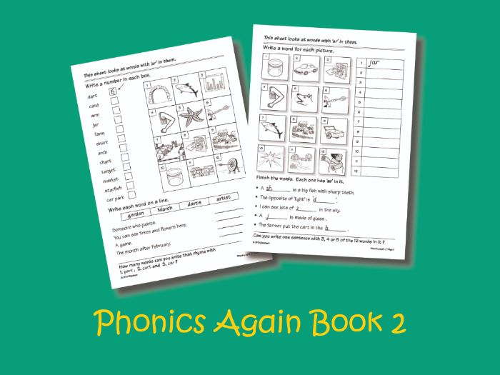 Phonics Again Book 2