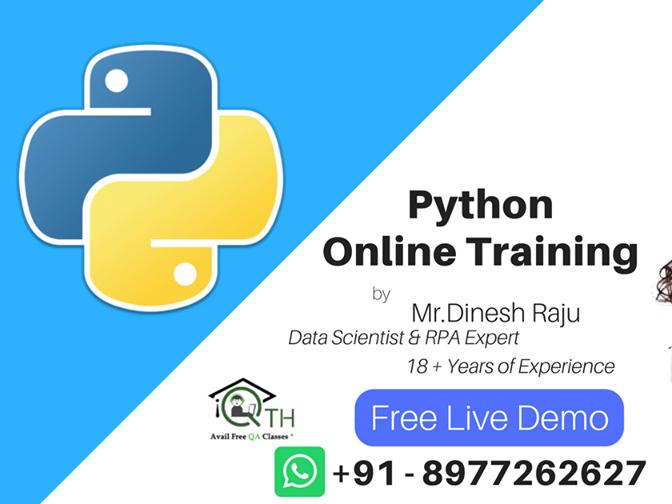 Python Online Training by QA Training Hub