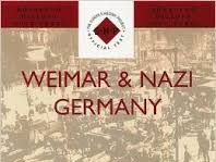 INTRODUCTION TO WEIMAR GERMANY 1918-1933