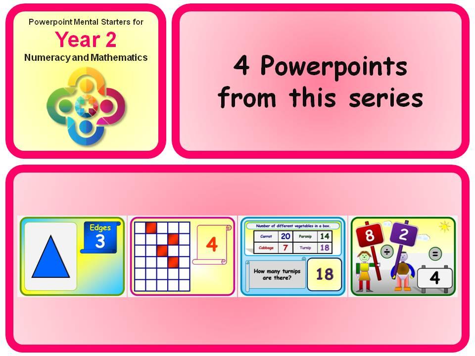KS1 Year 2 Maths Mental Starters 5